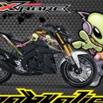 Yamaha Xabre Stiker Printing