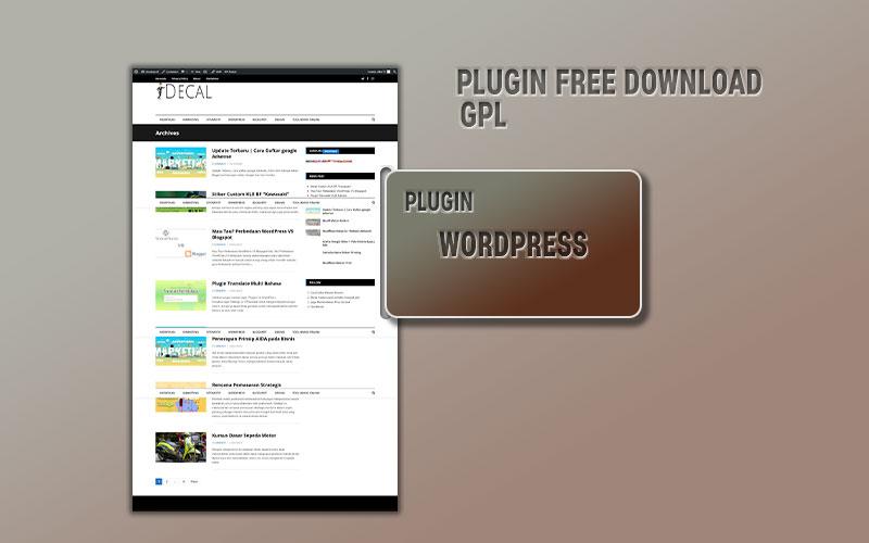 Plugin Worpress Gratis Download