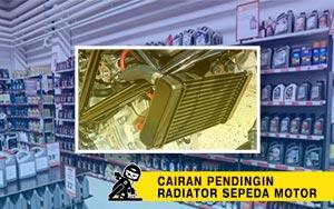 pendingin radiator sepeda motor